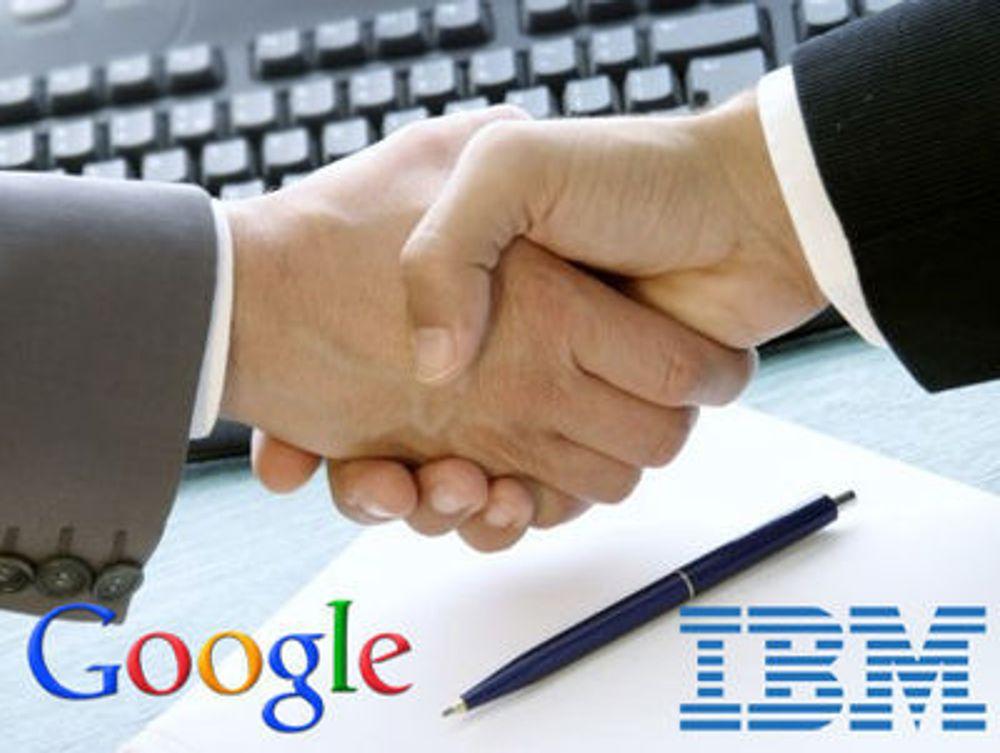 Google kjøper IBM-patenter
