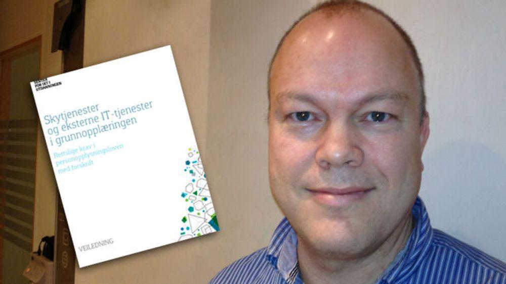 Frode Løbersli, seniorrådgiver i Senter for IKT i Utdanningen.
