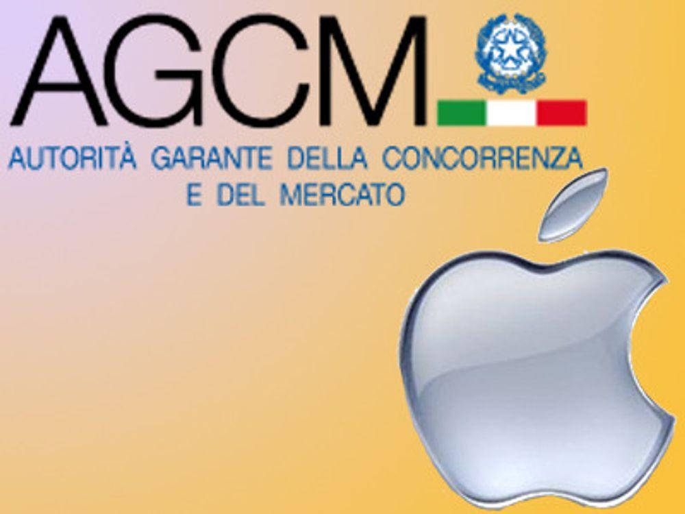 Apple bøtelagt i Italia