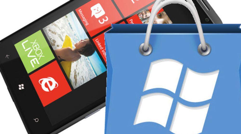 Antallet applikasjoner i Windows Phone Marketplace har vokst kraftig den siste måneden.