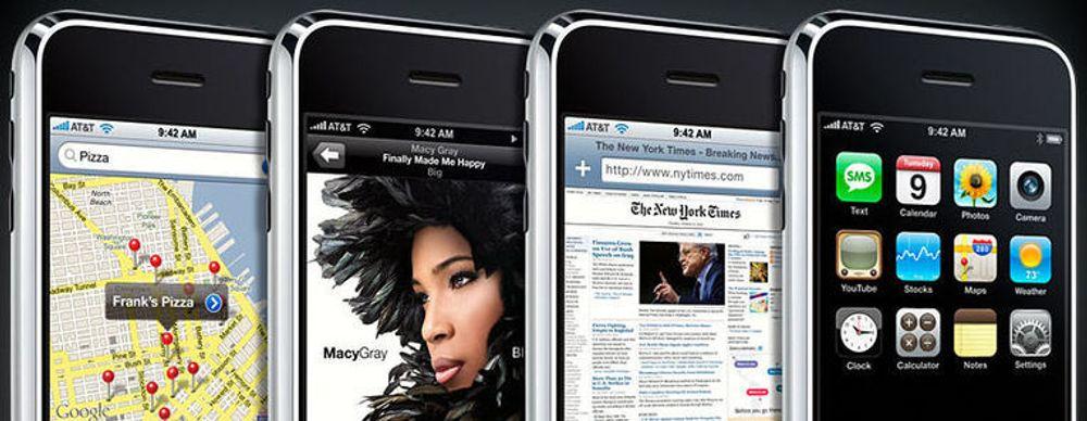 Nå kommer iPhone til Norge