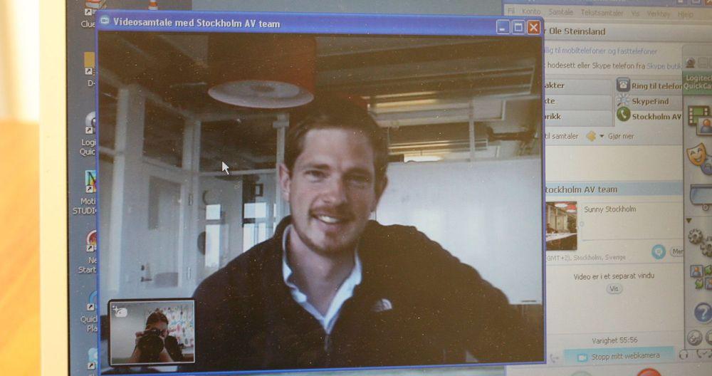 digi.no slo av en prat med Wilhelm Lundborg, produktsjef for Skype for Business.