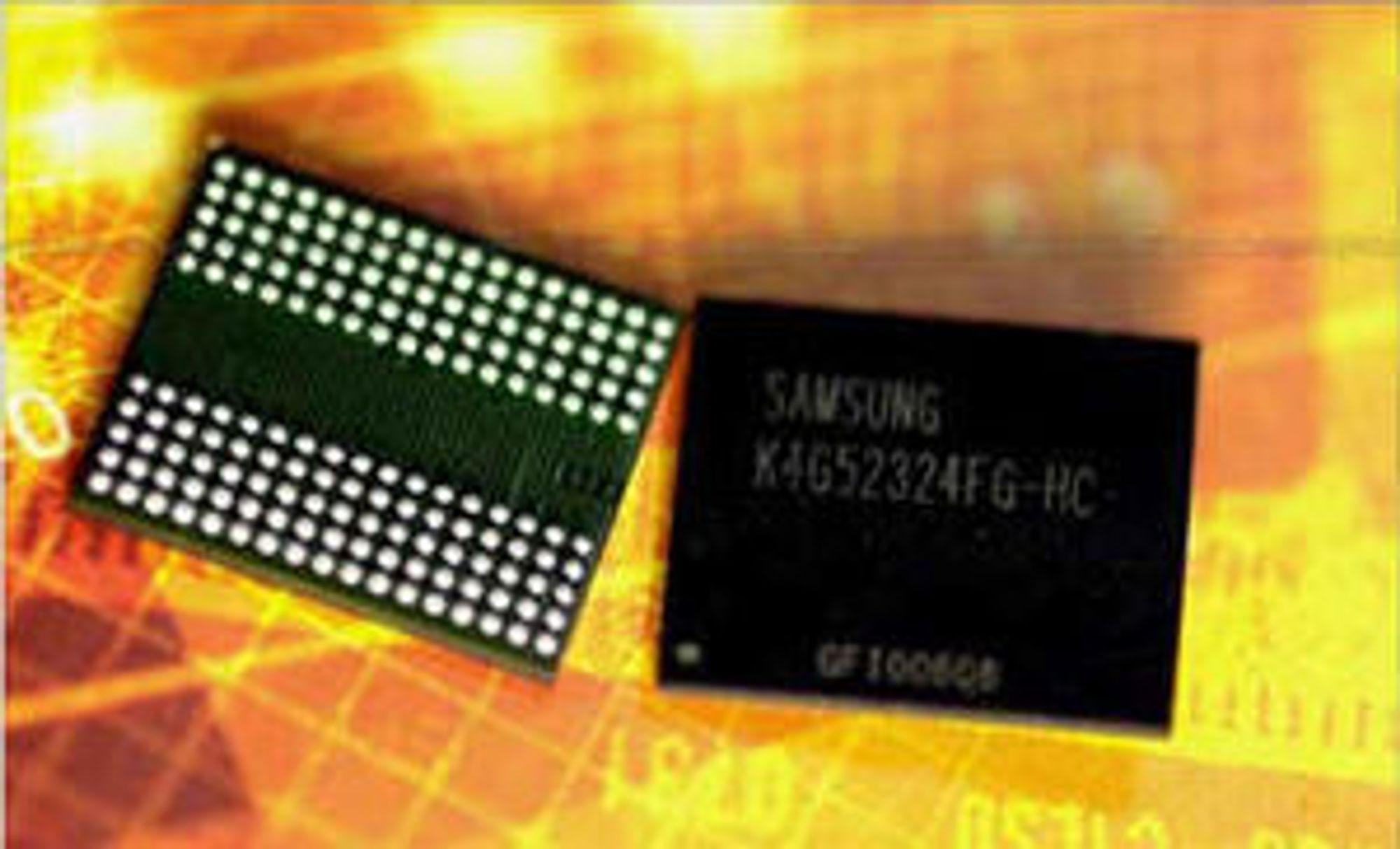 GDDR5-minne fra Samsung