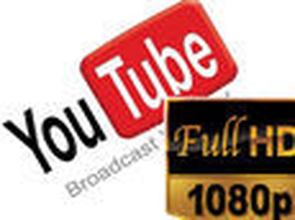 YouTube kommer i full HD
