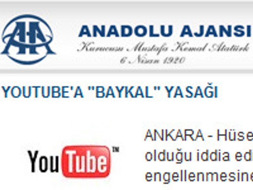 Tyrkia sperrer Youtube på nytt