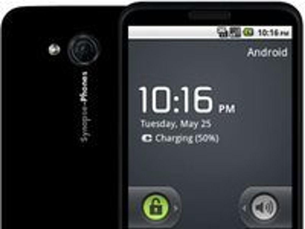 Smartmobilen Synapse One fra Synapse-Phones