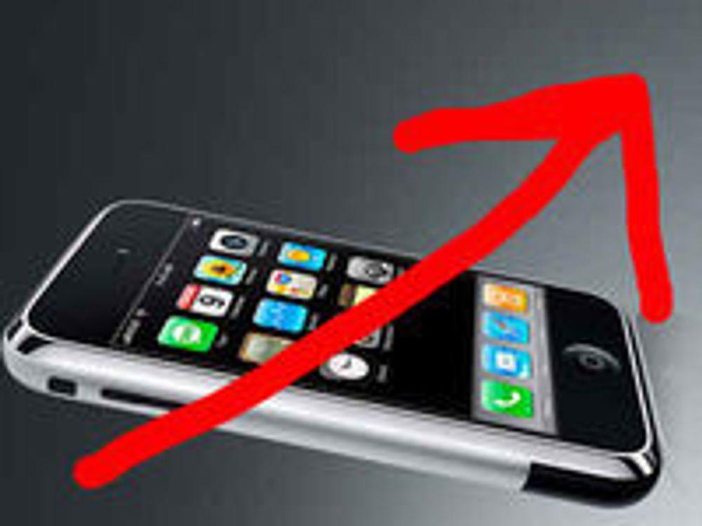 Apple er fjerde størst innen alle typer mobil