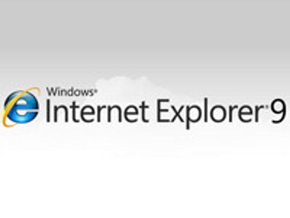 IE9 nærmer seg lansering