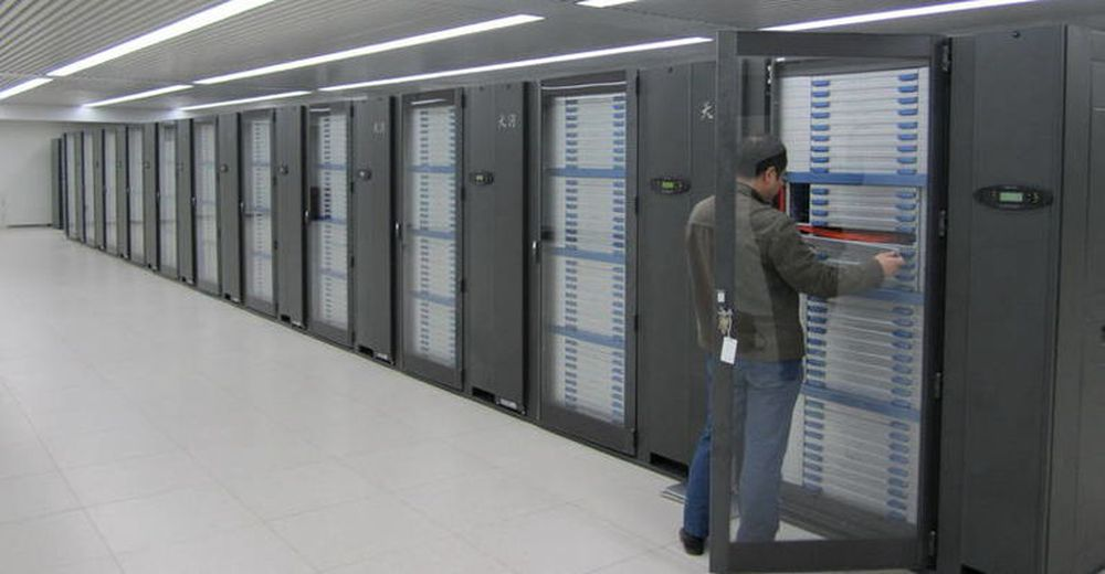 Superdatamaskinen Tianhe-1A
