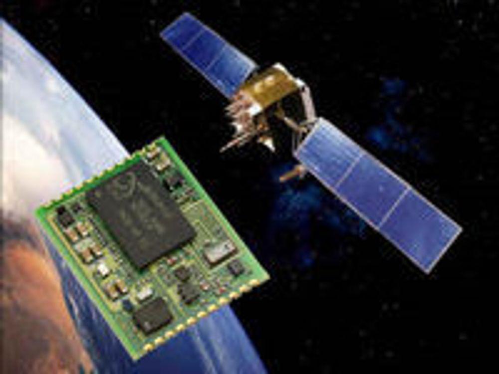 GPS-mottaker lover halvert strømforbruk