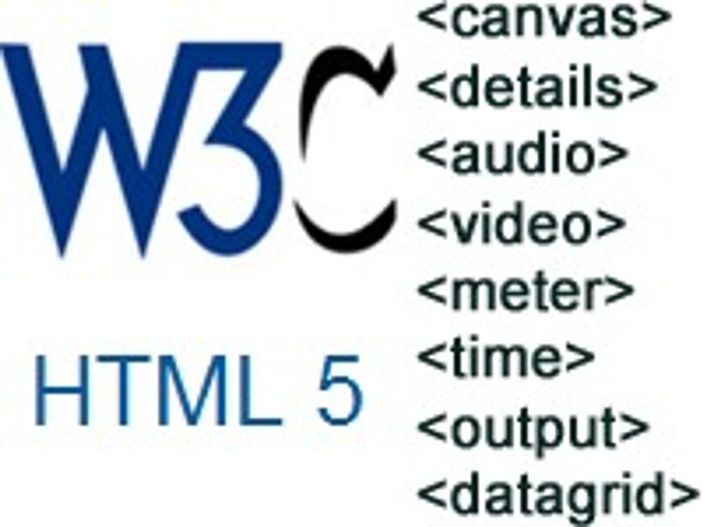 HTML 5 har fått mer funksjonalitet