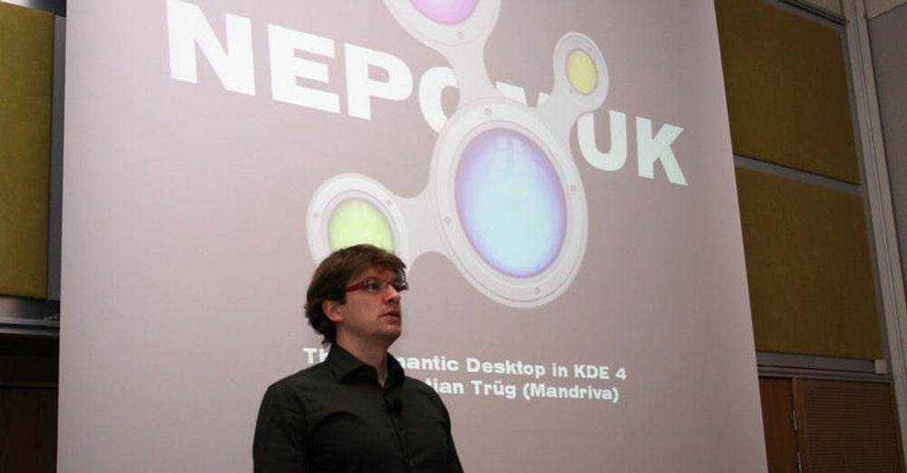 Sebastian Trüg har ledet arbeidet med å implementere semantisk teknologi i KDE.