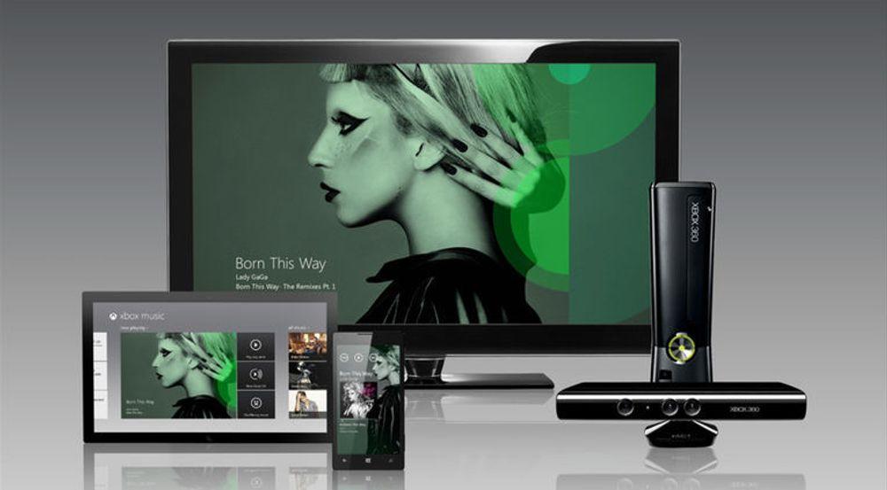 Microsoft satser tungt på musikktjenesten Xbox Music. Den skal erstatte Zune og integreres tett i konsollen Xbox samt Windows 8. Den blir ikke integrert i tidligere Windows-versjoner, men Microsoft varsler apper for iOS og Android.