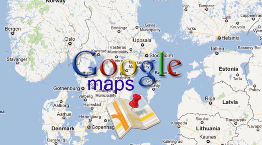 Microsoft-søksmål kan ramme Google Maps