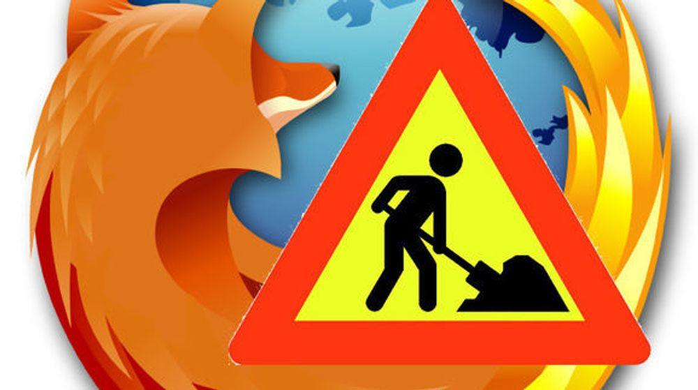 Firefox 16 er trukket tilbake