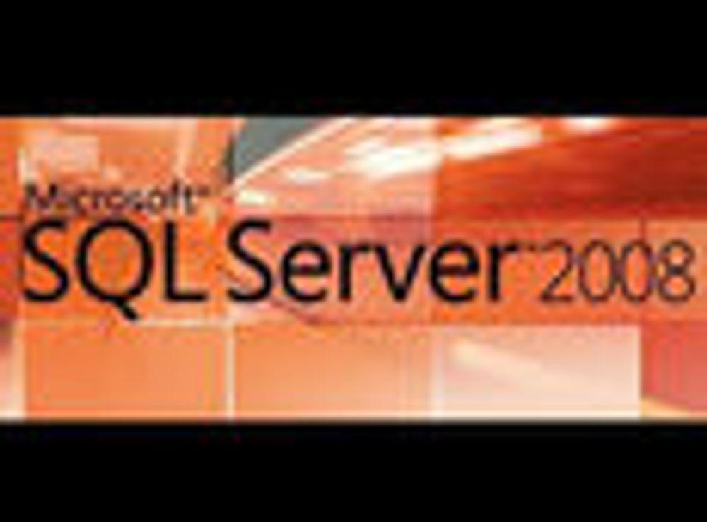 SQL Server 2008 er ferdig