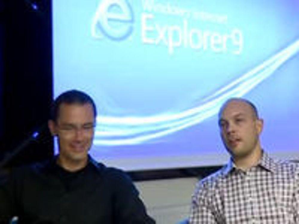 Slik blir Internet Explorer 9