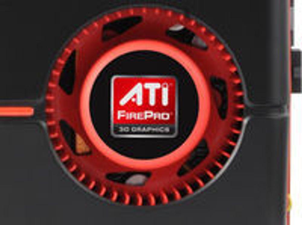 AMD-skjermkortet ATI FirePro V9800