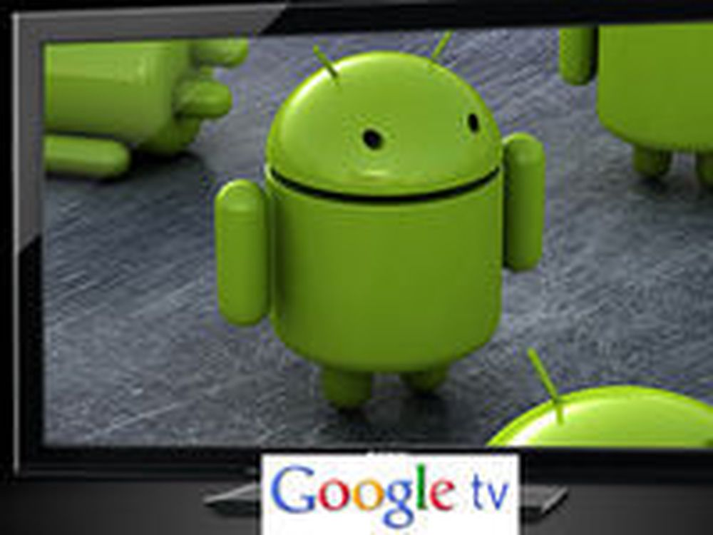 Lover bred Google TV-lansering i 2011
