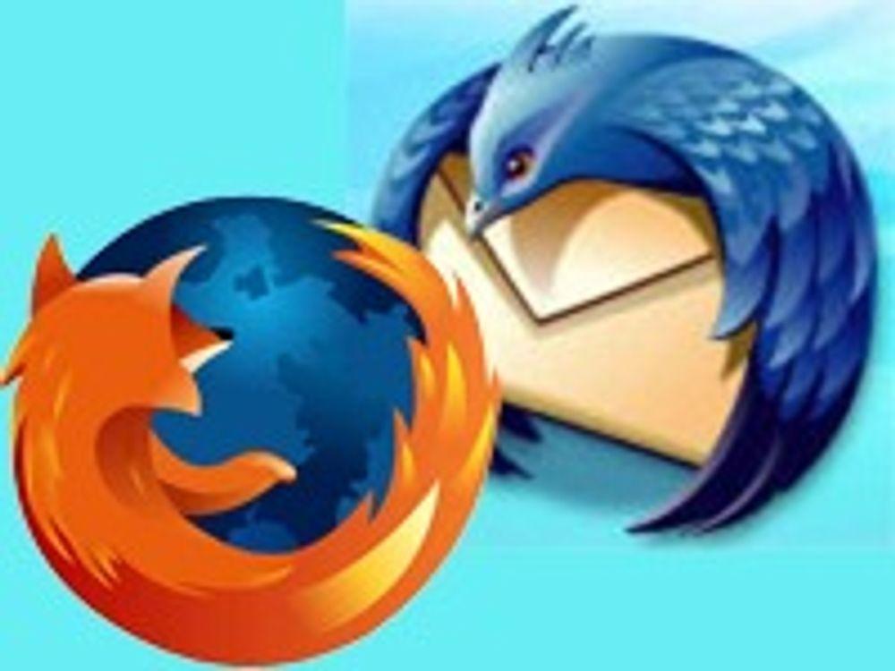 Mozilla lapper mengder med sikkerhetshull