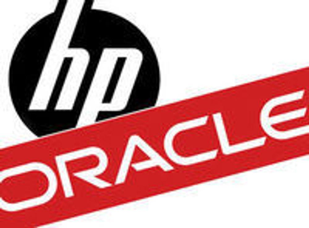 Alvorlig strid mellom HP og Oracle