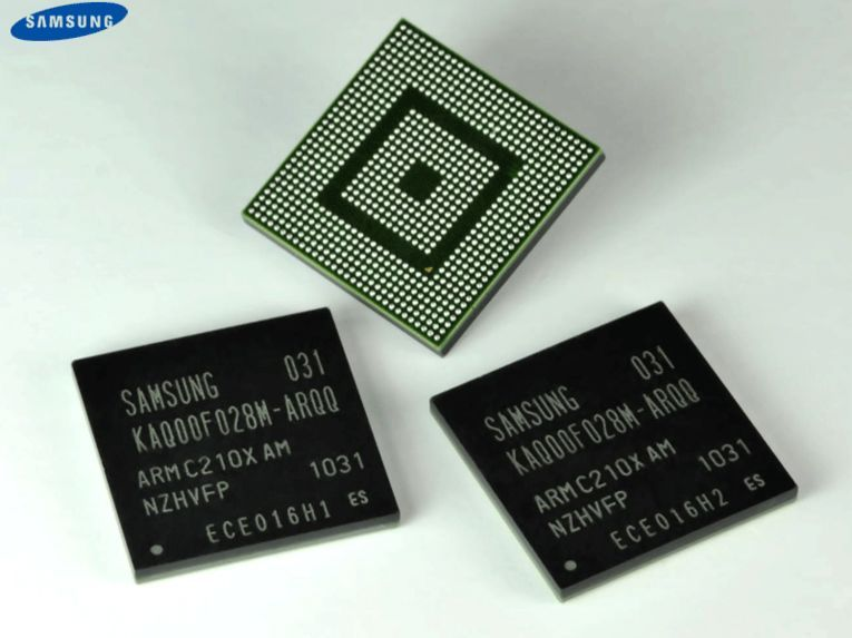 Samsungs Orion-prosessor, som er basert på to ARM Cortex A9-kjerner.