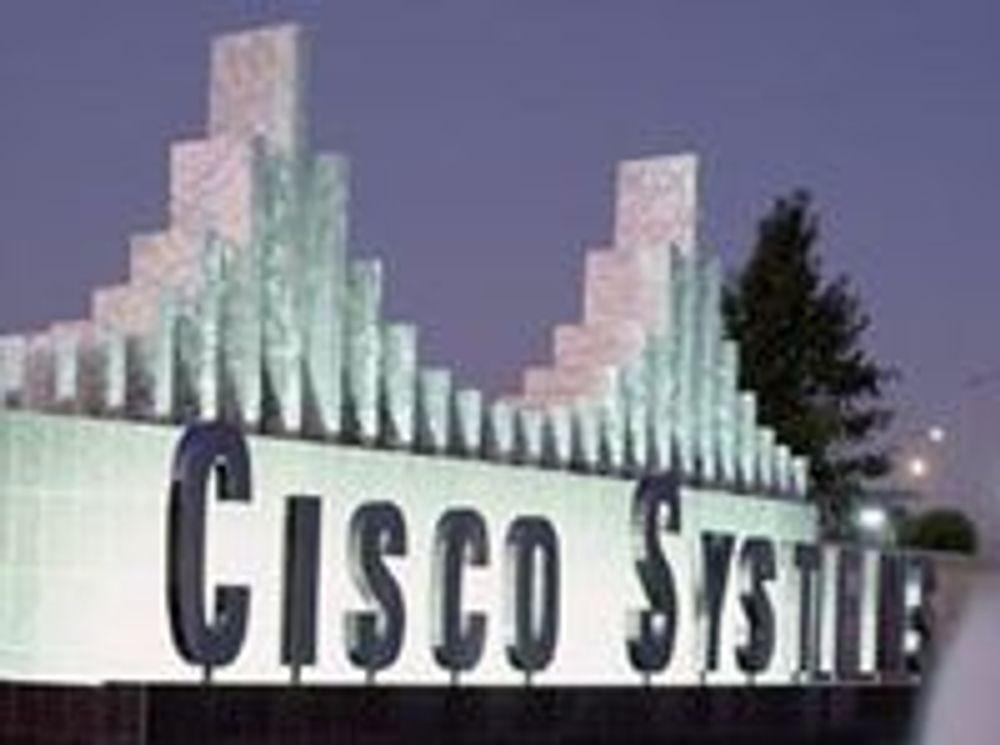 Cisco-tall skuffer igjen