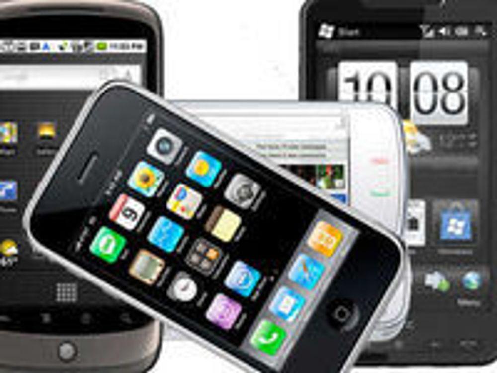 Halvparten av oss kjøpte mobil i fjor
