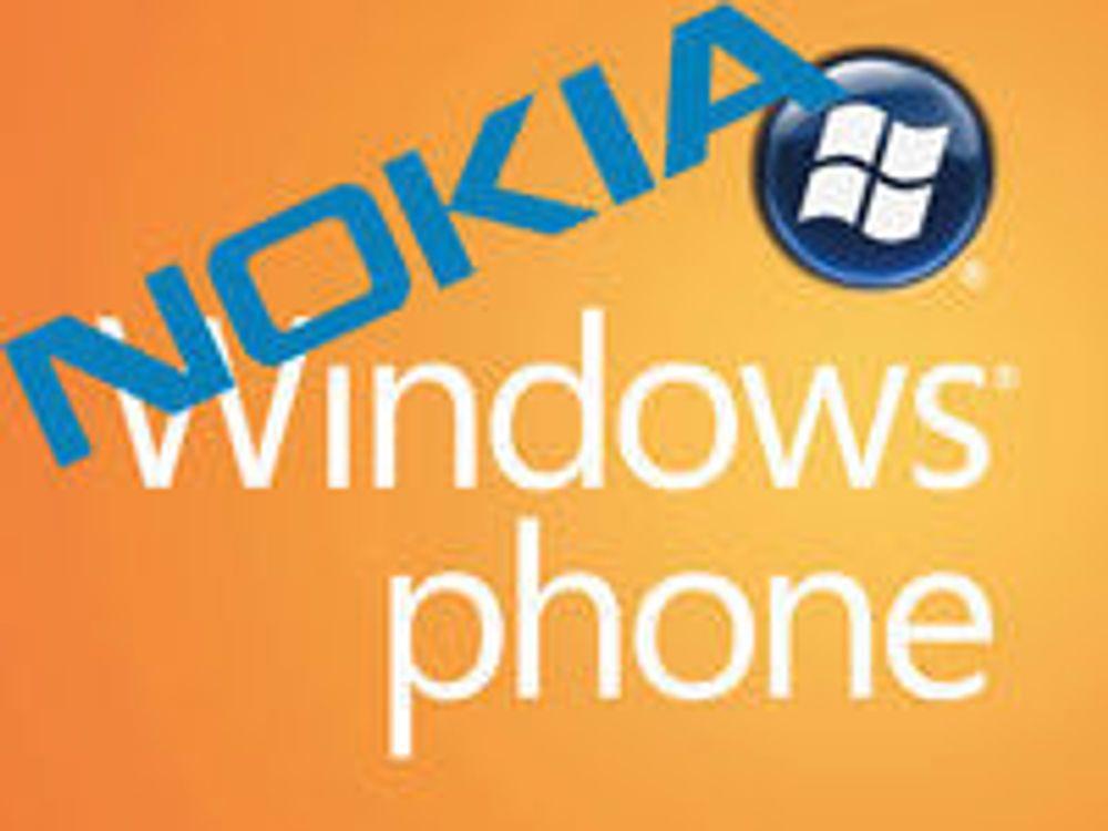 Rykte om at Nokia tenker Windows