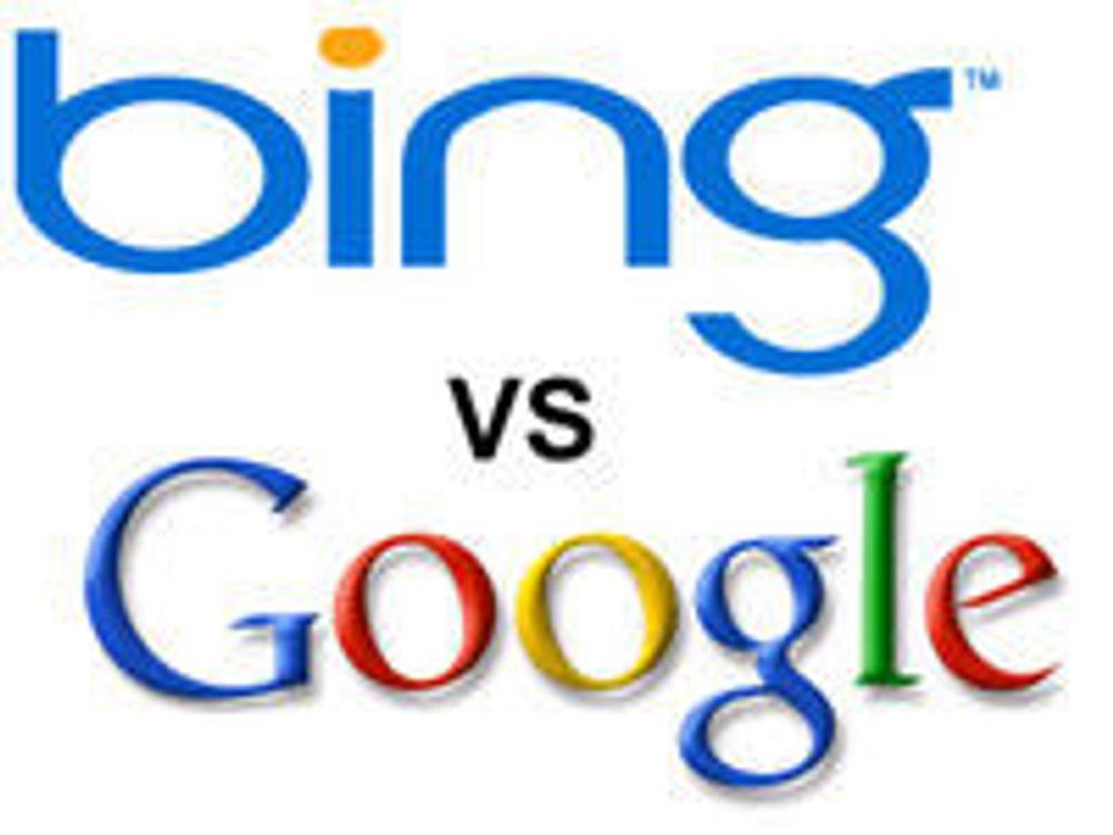 Microsoft slår tilbake mot Google