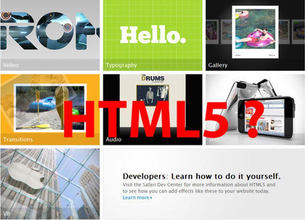 Massiv kritikk mot Apples «HTML5»-demo