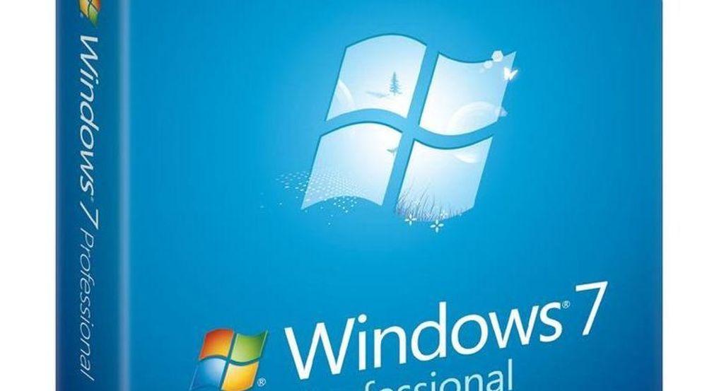 – Nå er Windows 7 størst