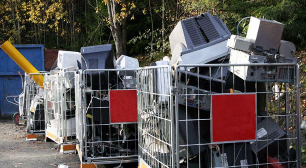 Det foregår en omfattende ulovlig eksport av IT-avfall fra Norge, sier Klima- og forurensningsdirektoratet.