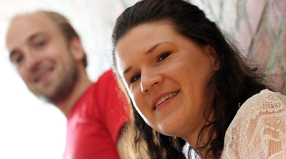 Lærer bort entreprenørskap: Maja Adriaensen og Frode Jensen i Startup Norway.