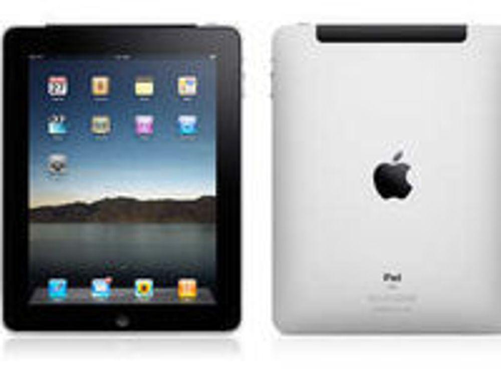 Lenge til iPad lanseres i Norge