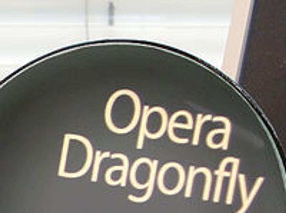 Opera bytter Dragonfly-lisens