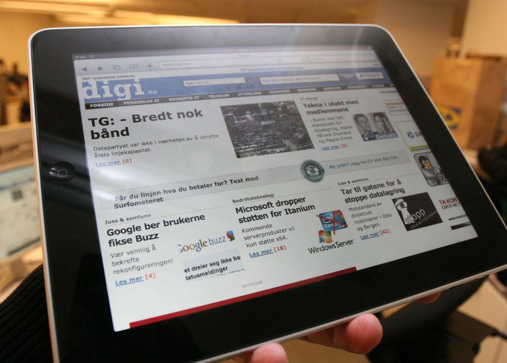 Har solgt en million iPads
