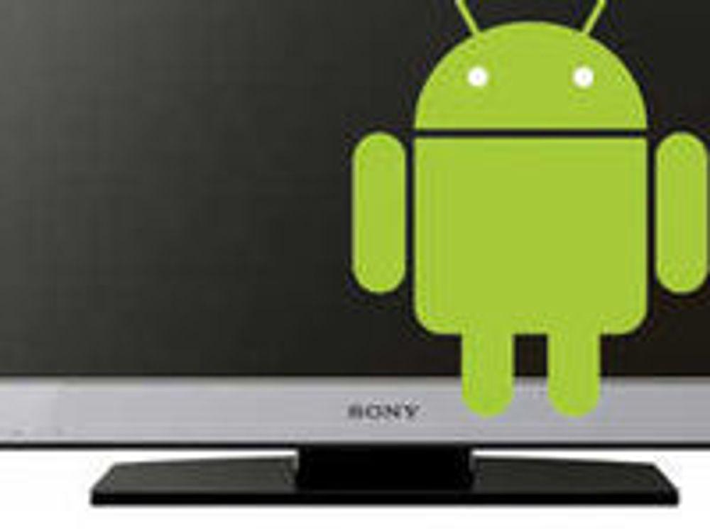 – Google med Android-basert tv-plattform