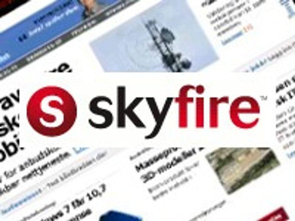 Skyfire bringer Flash-video til Android
