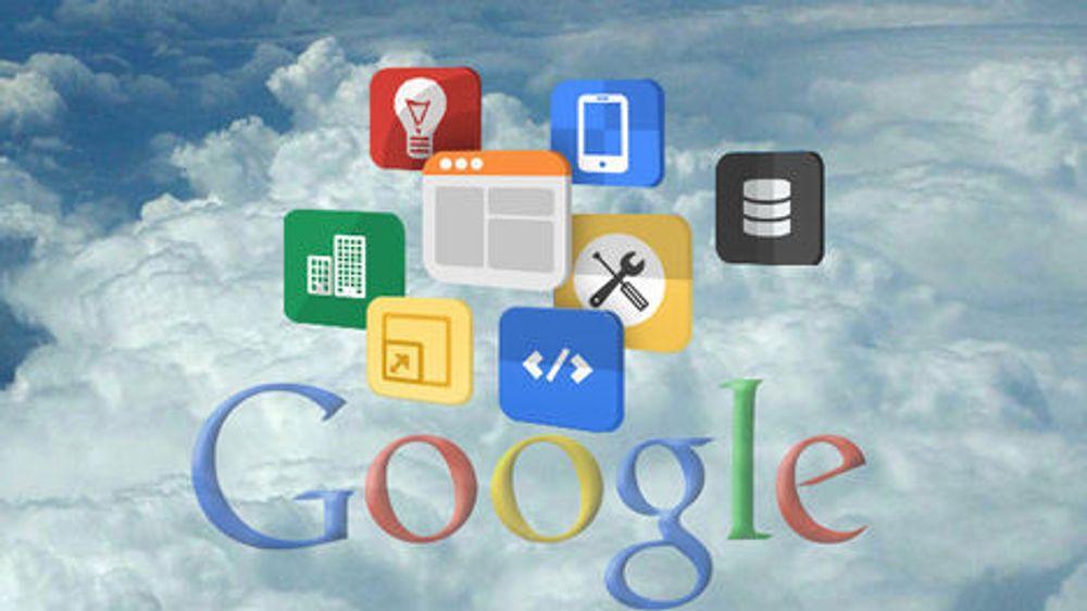 Google kjører alt i samme infrastruktur