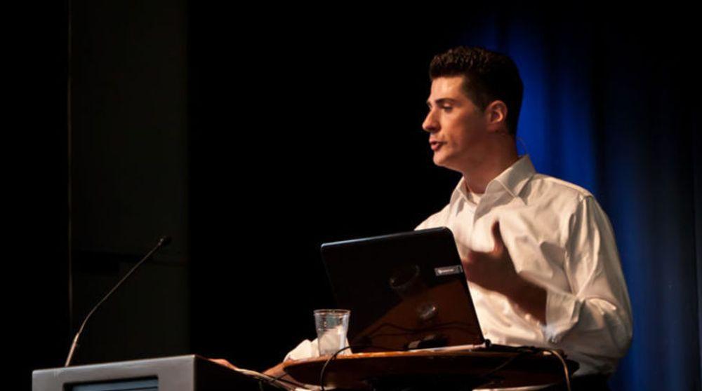 Microsofts skoleguru, Antony Salcito, besøkte forrige ute Bergen på Itslearnings årlige brukerkonferanse.