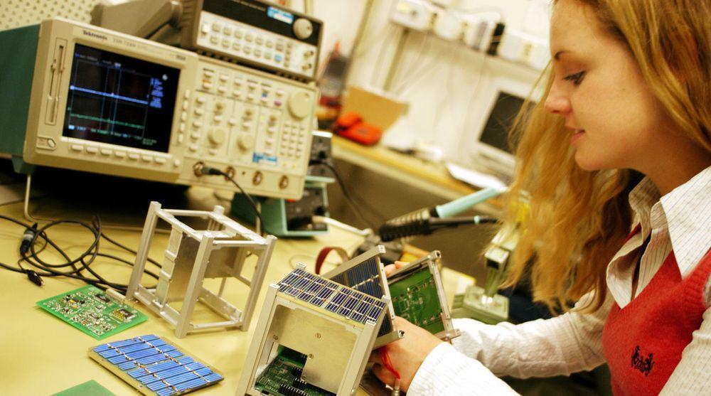 Stadig flere kvinner søker seg til NTNU og teknologiske fag.