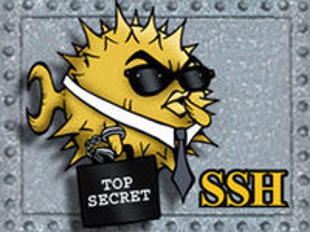 Advarer mot dårlig SSH-sikkerhet