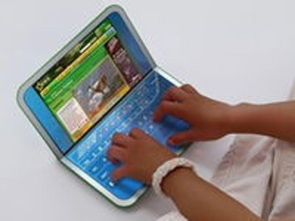 Opprinnelig XO-1-maskin fra OLPC