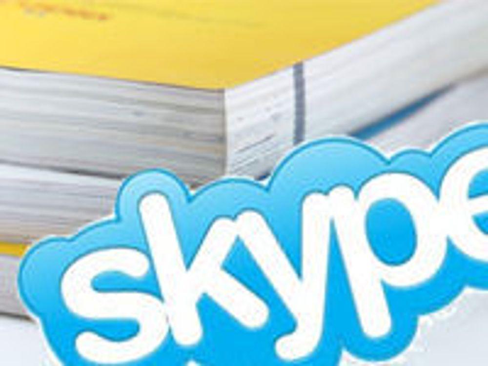 Skype vil tjene på gule sider