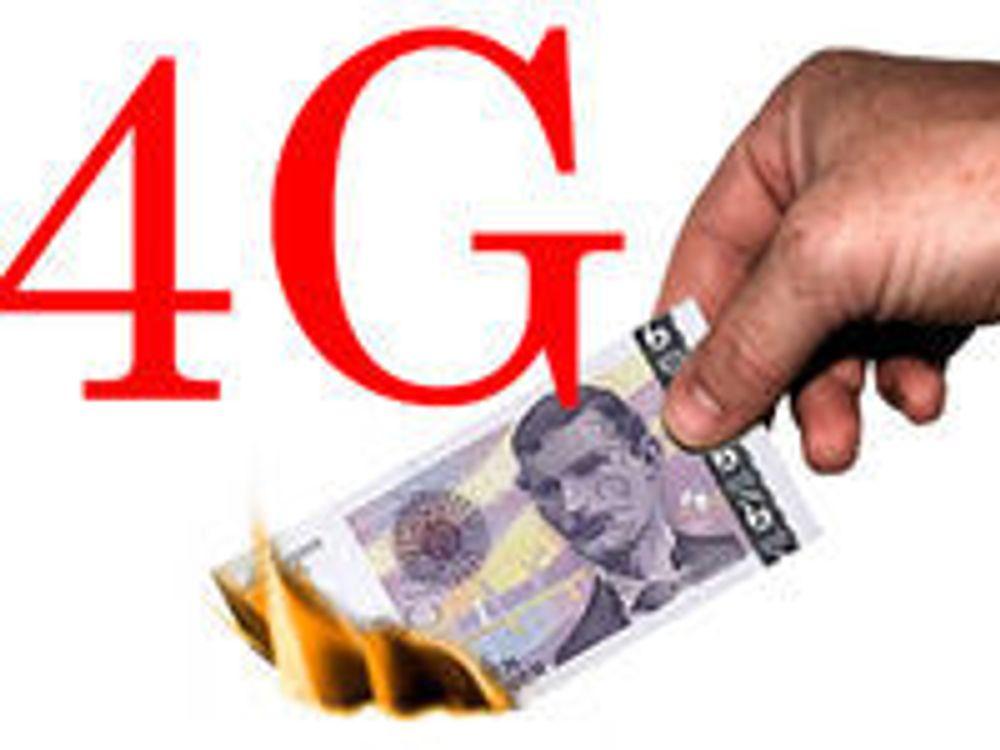 Svinedyrt å bygge 4G