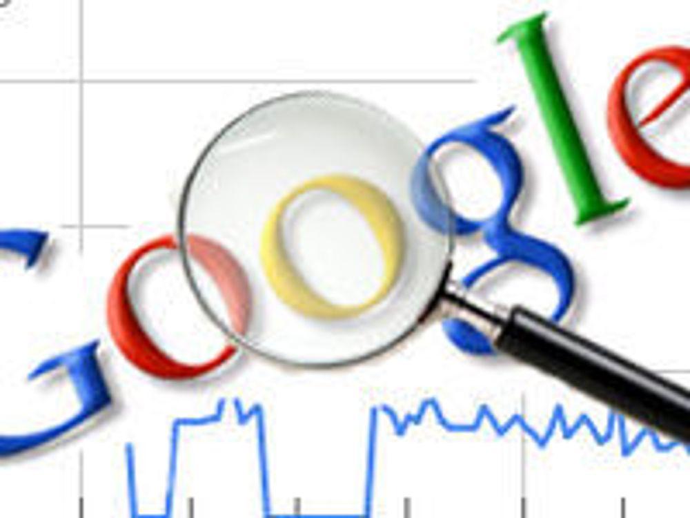 Google selger mindre, tjener mer