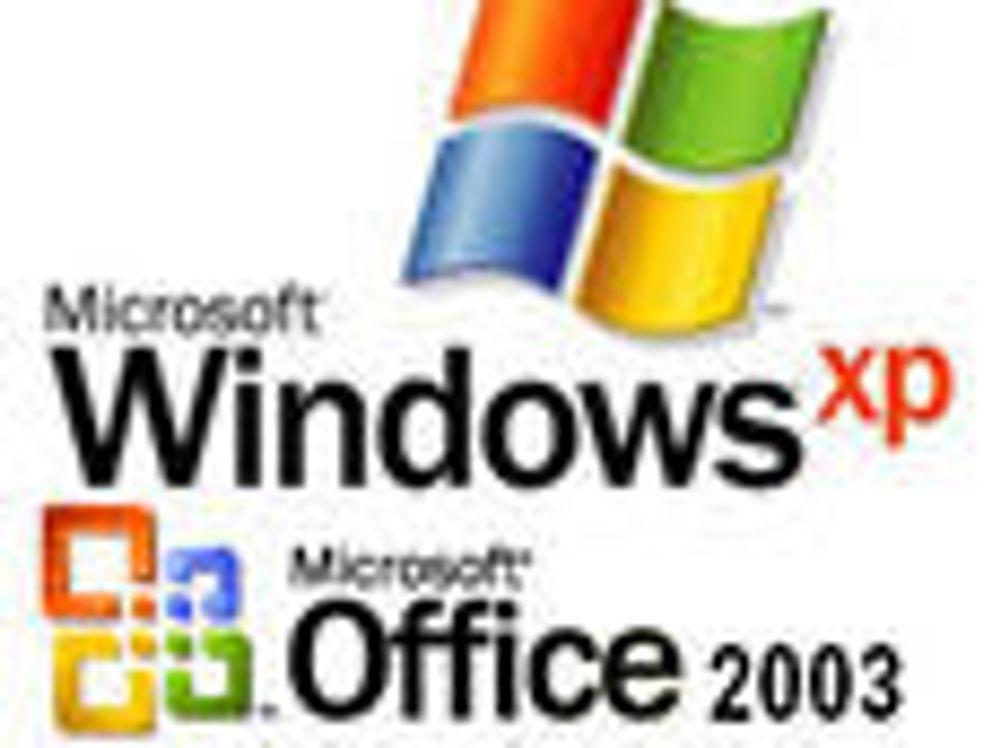 Enden nær for XP- og Office 2003-support