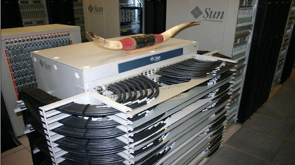 Ved Texas Advanced Computing Center er den norske svitsjen bygget ut nesten maksimalt.