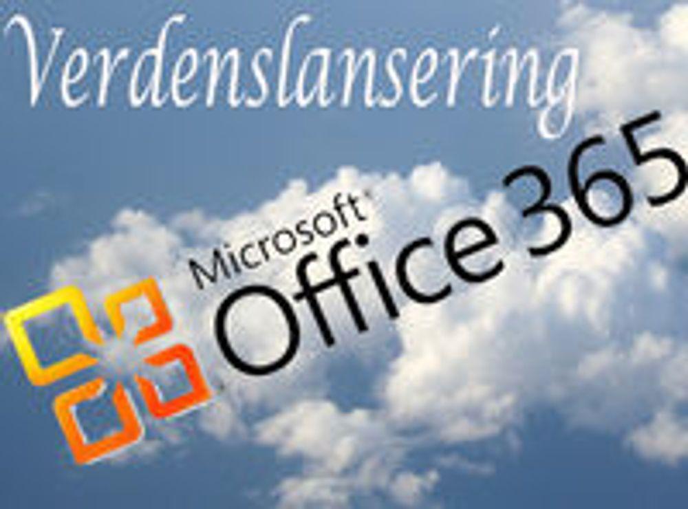 Office 365 klar for Norge